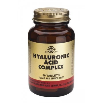ACIDO HIALURONICO 120  mg 30 comp Solgar
