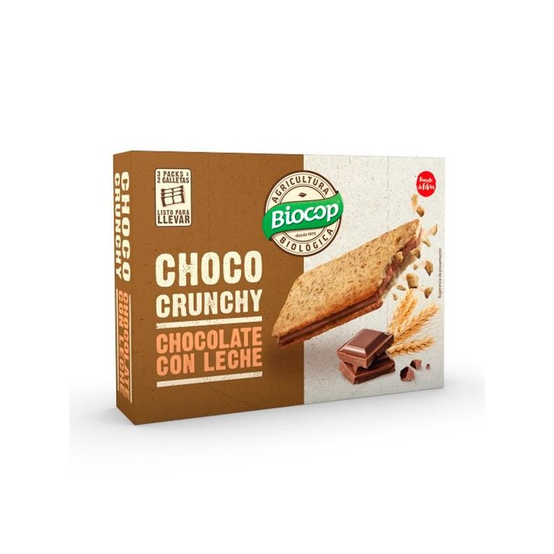 Galletas crunchy Chocolate con leche Bio