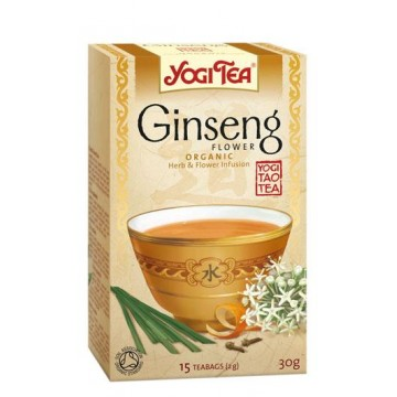 YOGI TEA GINSENG FLOR Bio 15 filtros