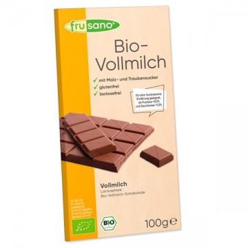 Chocolate con Leche Bio 100 gr Frusano