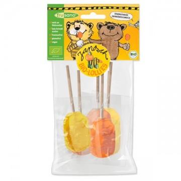 Piruletas de Naranja Limón Bio