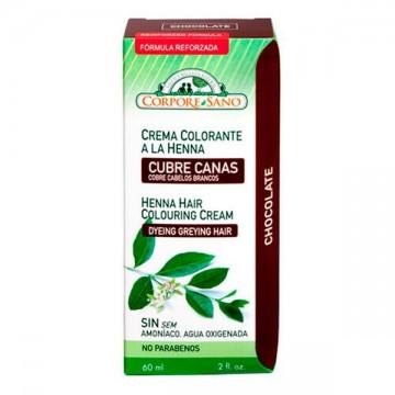 CUBRE CANAS HENNA CHOCOLATE 60 ml C S
