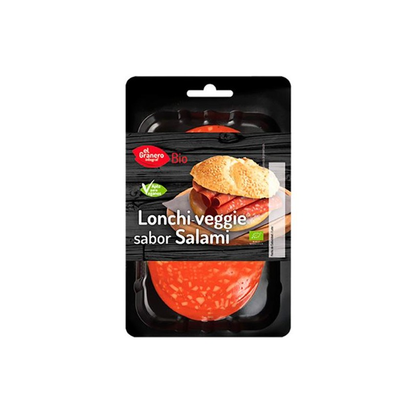 Salami Vegetal Bio 100 gr Granero