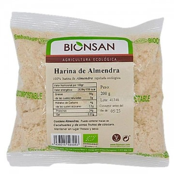 Harina de Almendra Bio 200 gr Bionsan