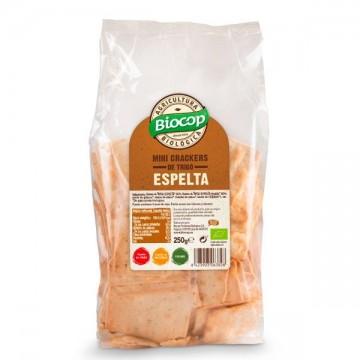 Mini Crackers Trigo Espelta Bio Biocop
