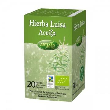 Hierba Luisa Bio 20 filtros Artemis