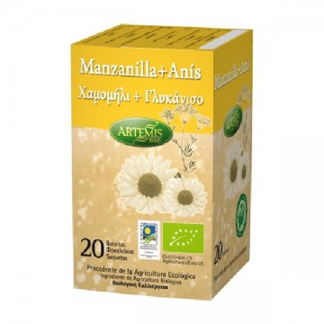 MANZANILLA CON ANIS Bio 20 filt Artemis