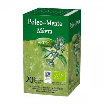 POLEO MENTA Bio 20 filtros Artemis