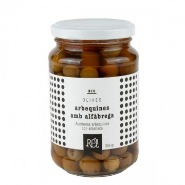 Aceitunas arbequinas Bio 200 gr Rel
