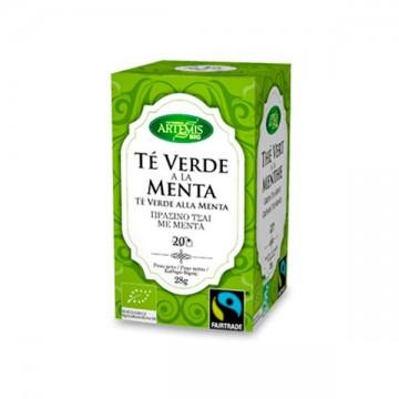 Te Verde con Menta Bio 20 filtros