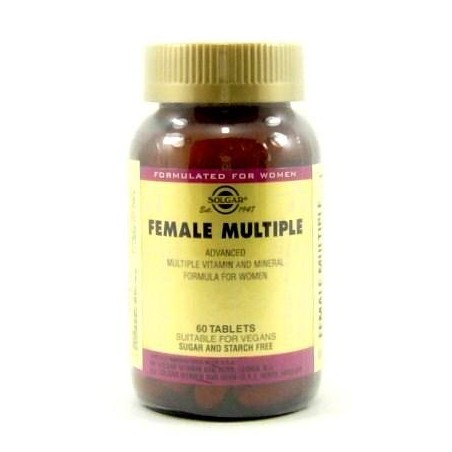 FEMALE MULTIPLE MUJER 60 comp Solgar