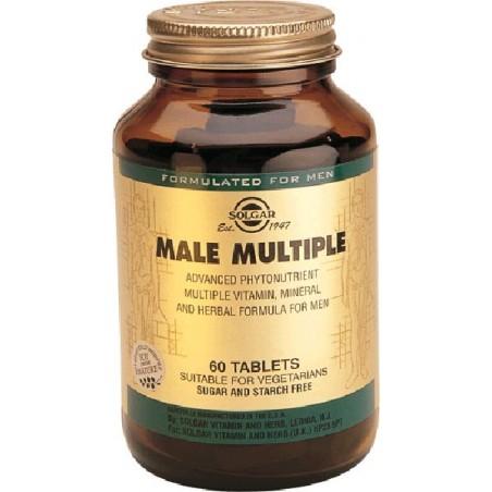 MALE MULTIPLE- HOMBRE 60 comp Solgar