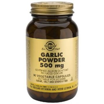 AJO EN POLVO 500 mg 90 caps Solgar