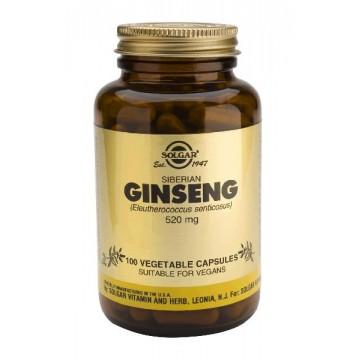 Ginseng Sibeiano 520 mg 100 caps Solgar