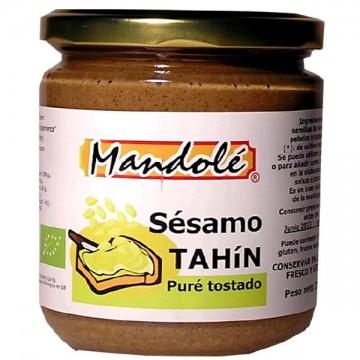 TAHIN PURÉ TOSTADO Bio 325 gr Mandole