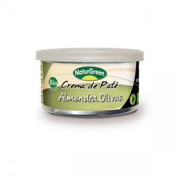 PATE ALMENDRA Y OLIVA Bio 125 gr N Green