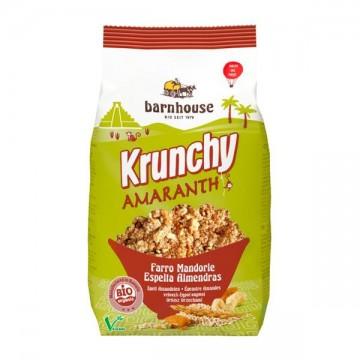 Krunchy amaranto espelta almendra Bio