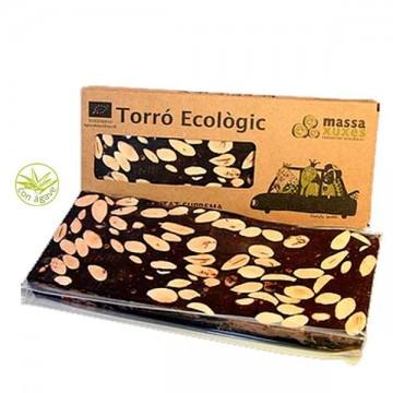 Turron Chocolate Agave Eco 200 gr Massa